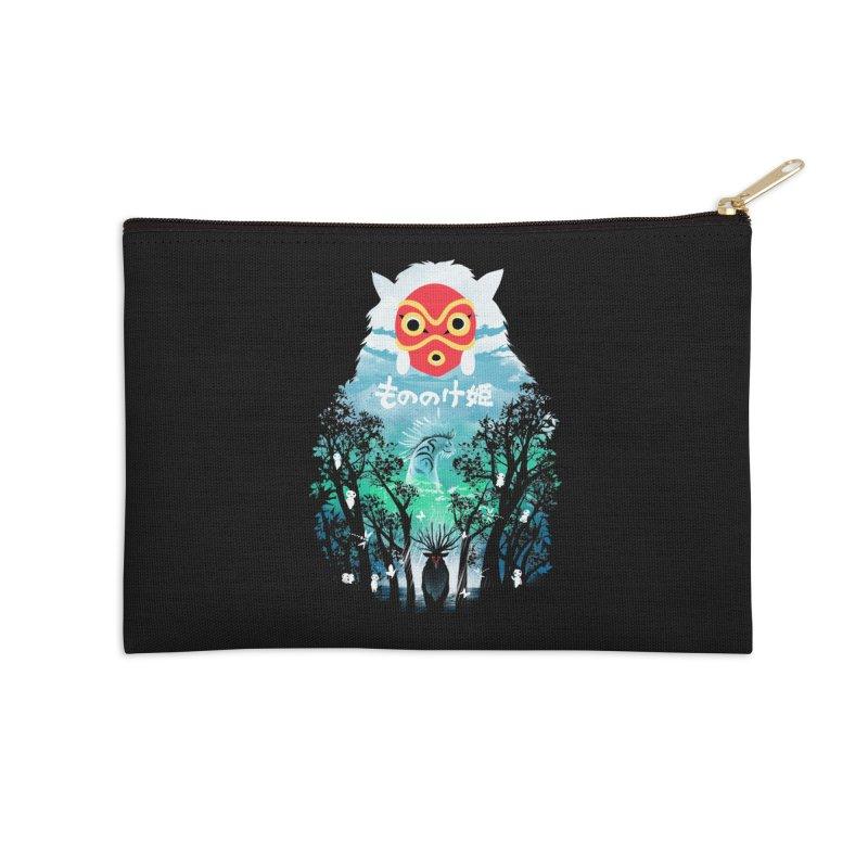 Forest Spirit Accessories Zip Pouch by dandingeroz's Artist Shop