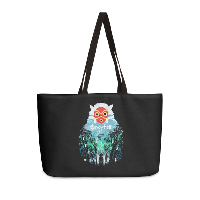 Forest Spirit Accessories Bag by dandingeroz's Artist Shop