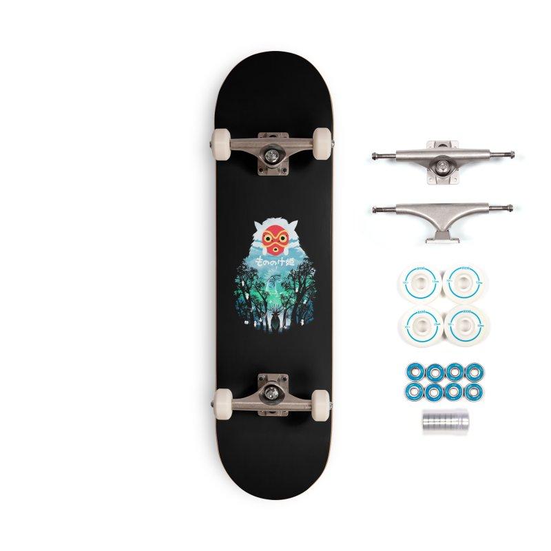 Forest Spirit Accessories Skateboard by dandingeroz's Artist Shop