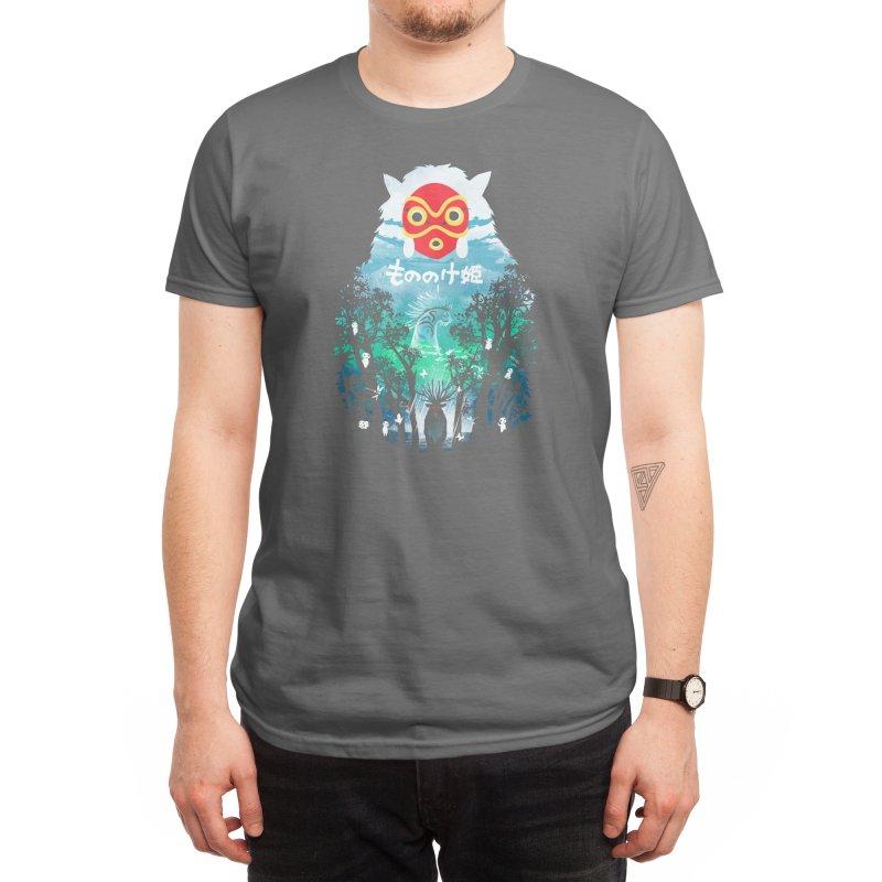 Forest Spirit Men's T-Shirt by dandingeroz's Artist Shop
