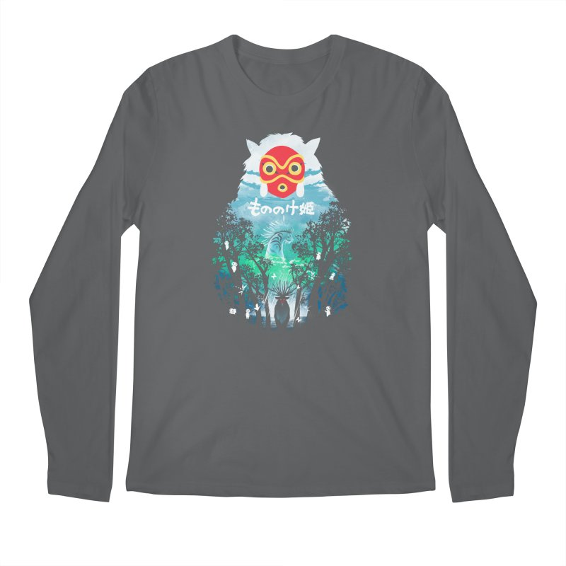 Forest Spirit Men's Longsleeve T-Shirt by dandingeroz's Artist Shop