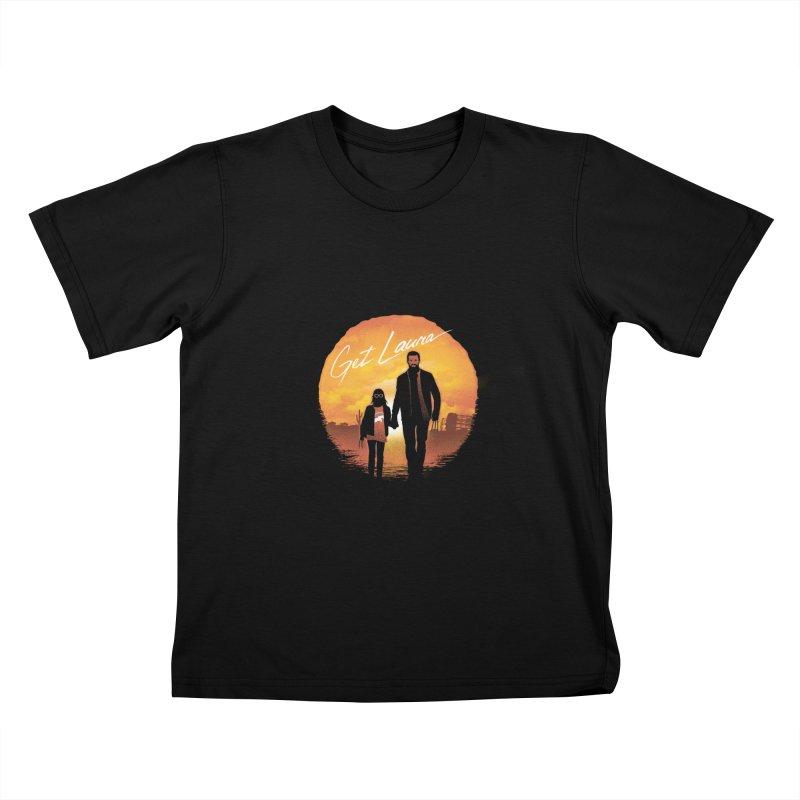 Get Laura Kids T-shirt by dandingeroz's Artist Shop
