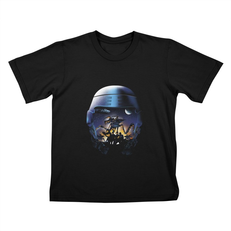 Bug Invasion Kids T-shirt by dandingeroz's Artist Shop
