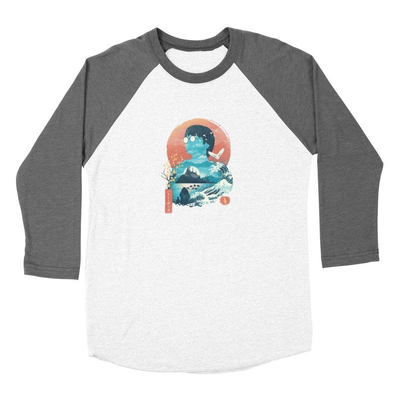 Magical World Edo Women's Longsleeve T-Shirt by dandingeroz's Artist Shop