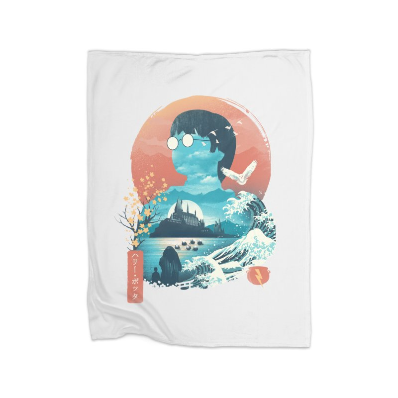 Magical World Edo Home Blanket by dandingeroz's Artist Shop