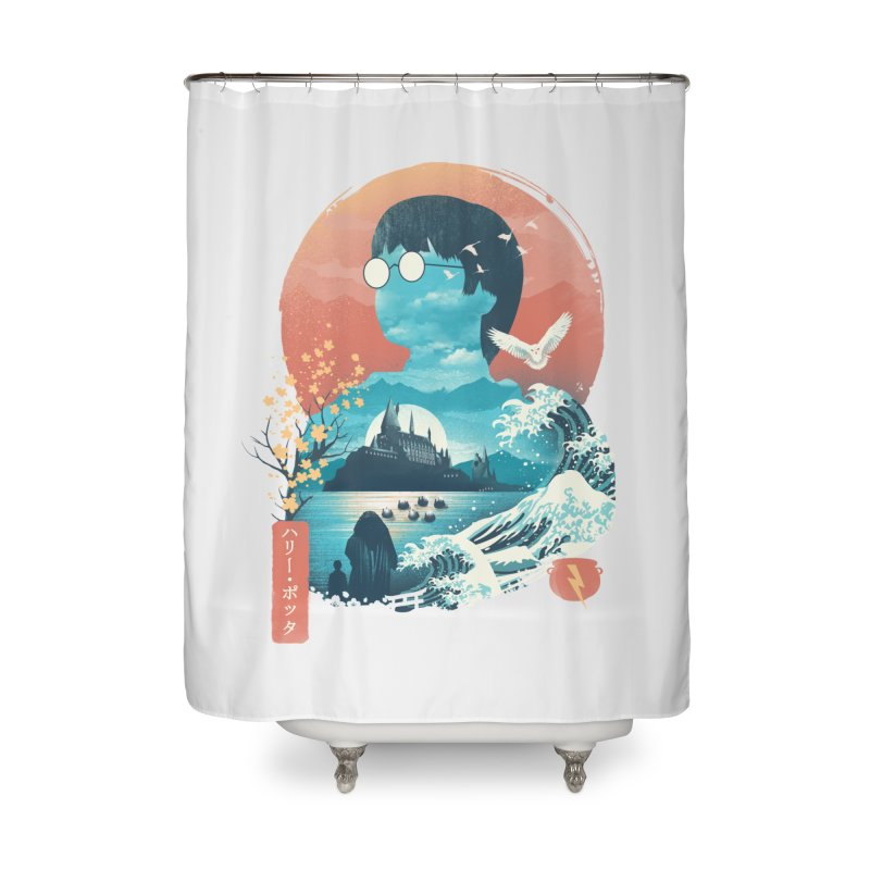 Magical World Edo Home Shower Curtain by dandingeroz's Artist Shop