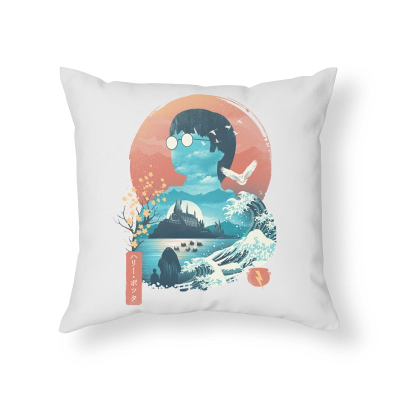 Magical World Edo Home Throw Pillow by dandingeroz's Artist Shop