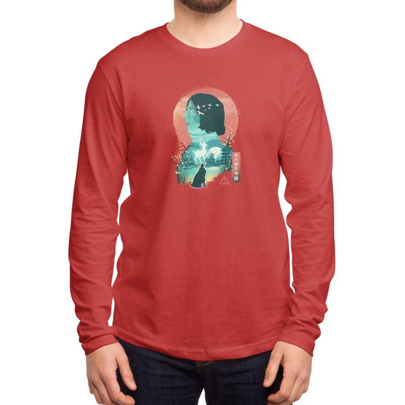 Always Ukiyo E Men's Longsleeve T-Shirt by dandingeroz's Artist Shop