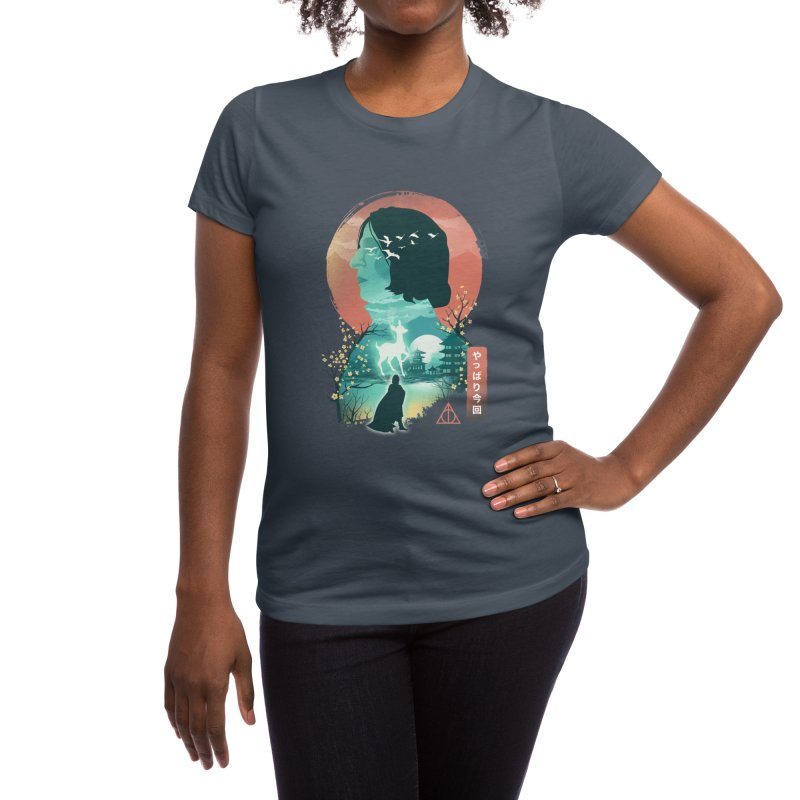 Always Ukiyo E Women's T-Shirt by dandingeroz's Artist Shop