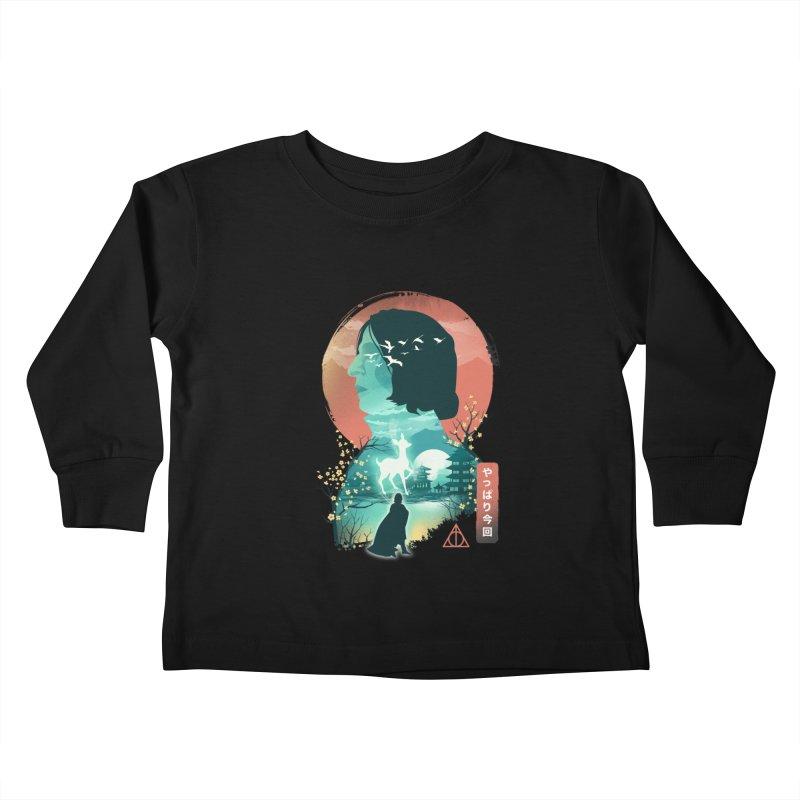 Always Ukiyo E Kids Toddler Longsleeve T-Shirt by dandingeroz's Artist Shop