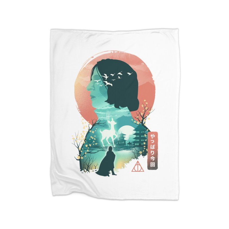 Always Ukiyo E Home Blanket by dandingeroz's Artist Shop