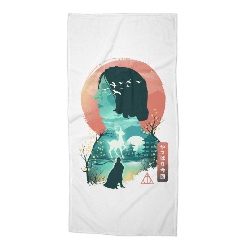 Always Ukiyo E Accessories Beach Towel by dandingeroz's Artist Shop