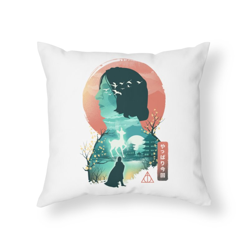 Always Ukiyo E Home Throw Pillow by dandingeroz's Artist Shop