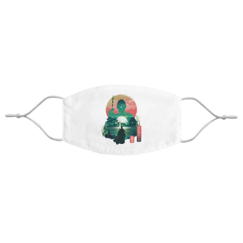 Wizard Ukiyo Accessories Face Mask by dandingeroz's Artist Shop