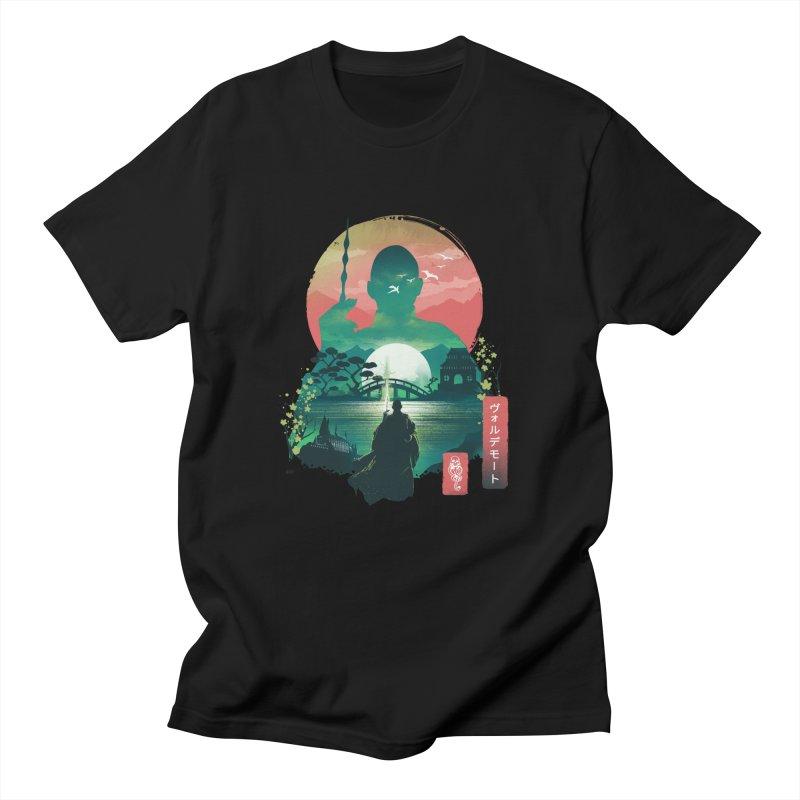 Wizard Ukiyo Men's T-Shirt by dandingeroz's Artist Shop