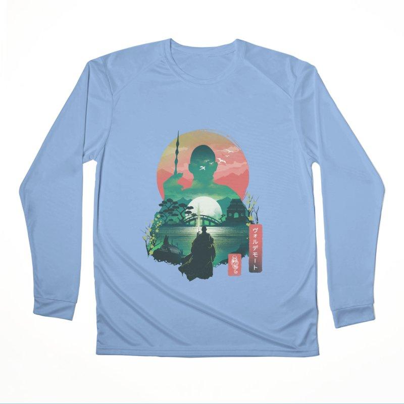 Wizard Ukiyo Women's Longsleeve T-Shirt by dandingeroz's Artist Shop