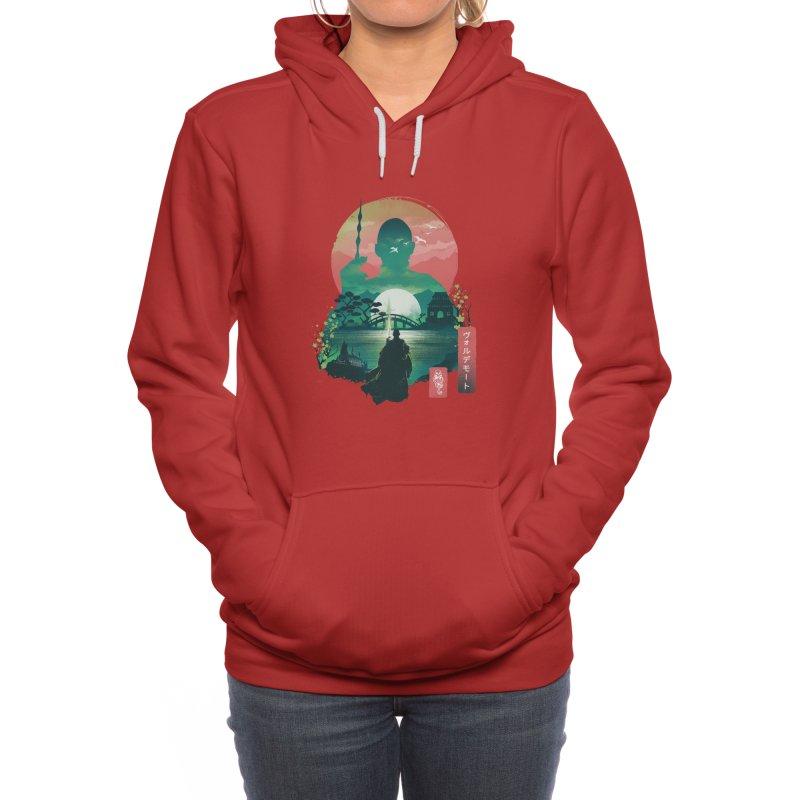 Wizard Ukiyo Women's Pullover Hoody by dandingeroz's Artist Shop