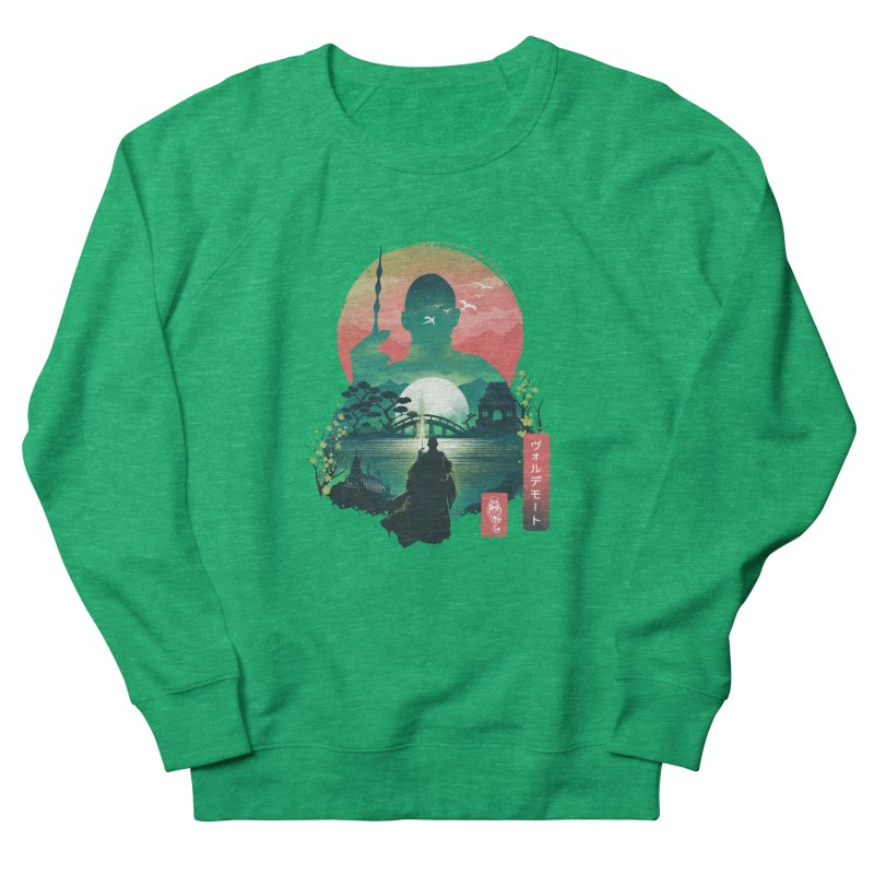 Wizard Ukiyo Women's Sweatshirt by dandingeroz's Artist Shop