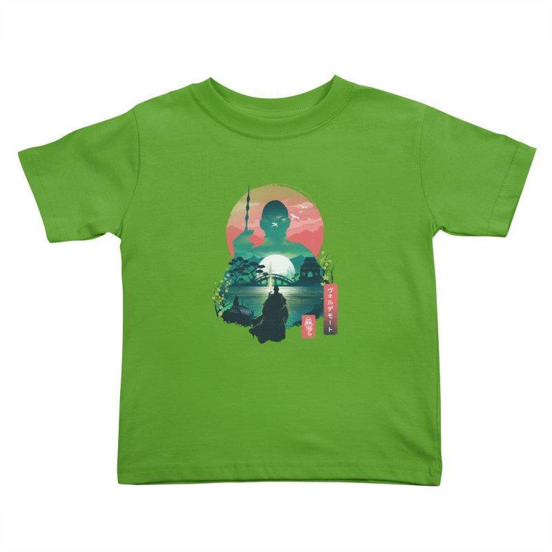 Wizard Ukiyo Kids Toddler T-Shirt by dandingeroz's Artist Shop