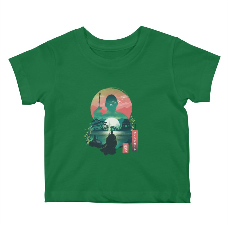Wizard Ukiyo Kids Baby T-Shirt by dandingeroz's Artist Shop