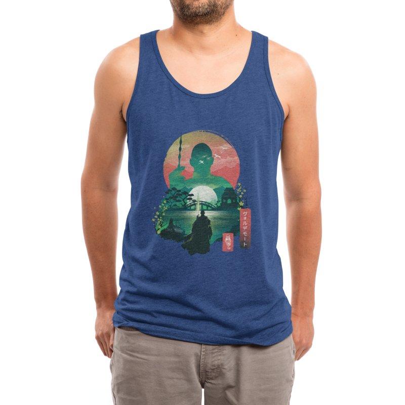Wizard Ukiyo Men's Tank by dandingeroz's Artist Shop