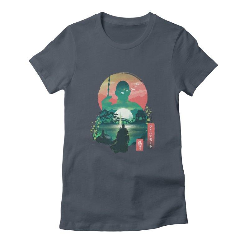 Wizard Ukiyo Women's T-Shirt by dandingeroz's Artist Shop