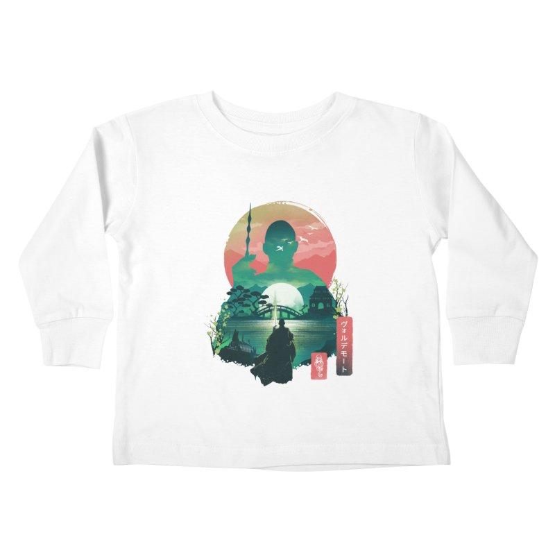 Wizard Ukiyo Kids Toddler Longsleeve T-Shirt by dandingeroz's Artist Shop
