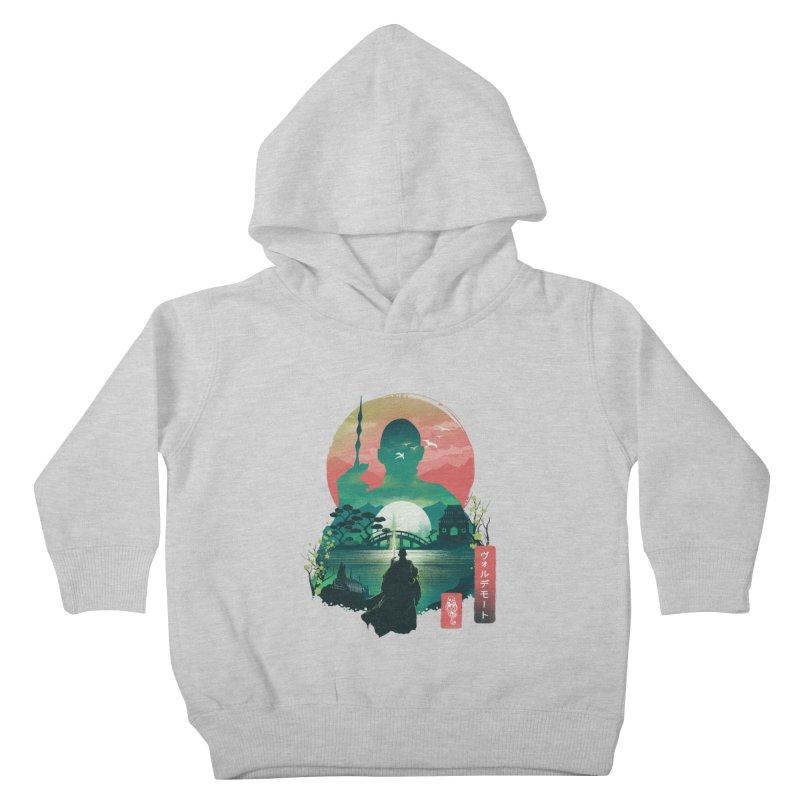 Wizard Ukiyo Kids Toddler Pullover Hoody by dandingeroz's Artist Shop