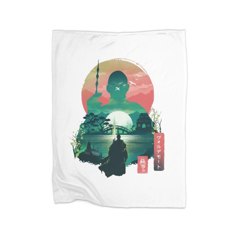 Wizard Ukiyo Home Blanket by dandingeroz's Artist Shop