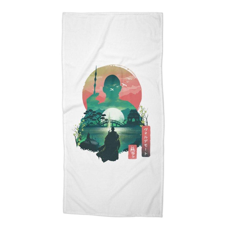 Wizard Ukiyo Accessories Beach Towel by dandingeroz's Artist Shop