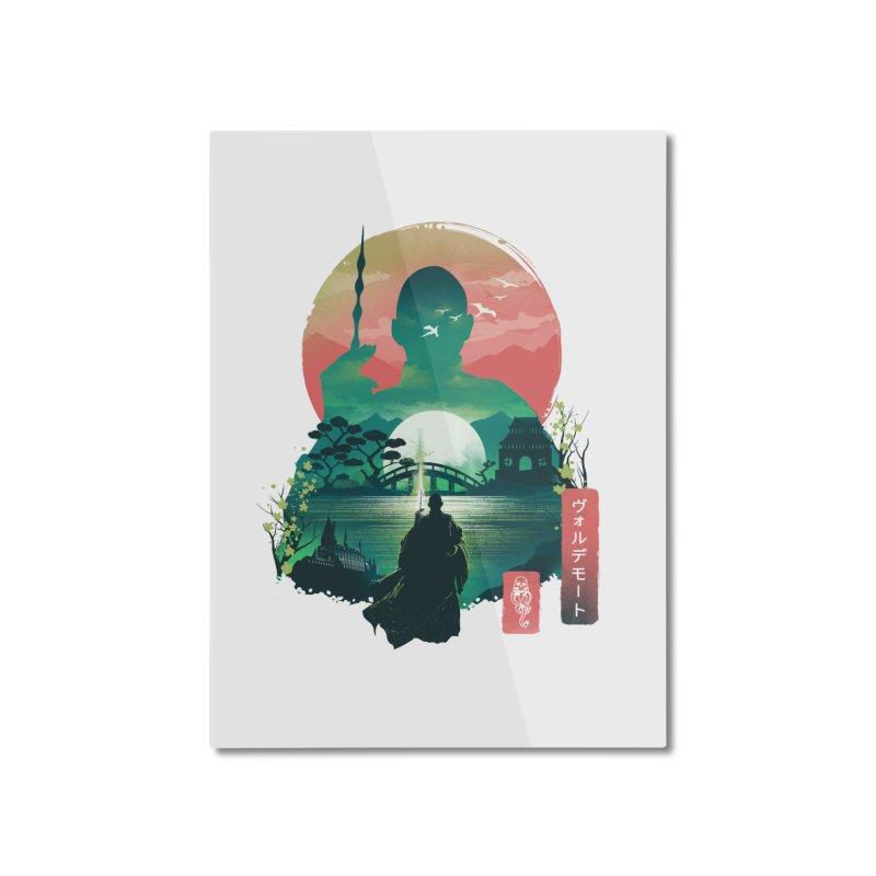 Wizard Ukiyo Home Mounted Aluminum Print by dandingeroz's Artist Shop