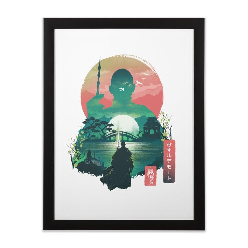 Wizard Ukiyo Home Framed Fine Art Print by dandingeroz's Artist Shop