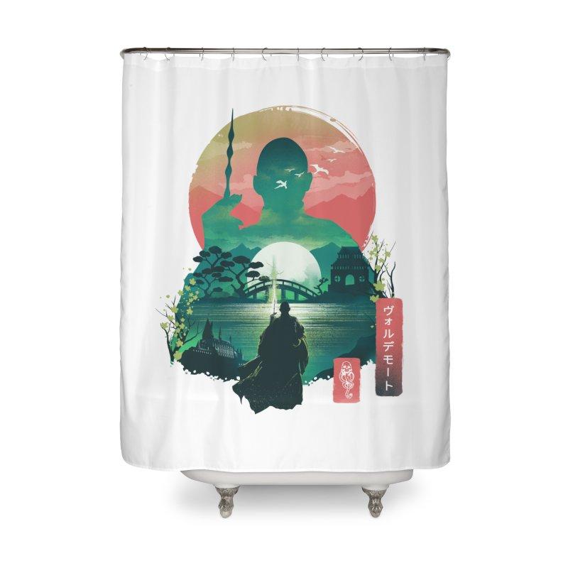 Wizard Ukiyo Home Shower Curtain by dandingeroz's Artist Shop