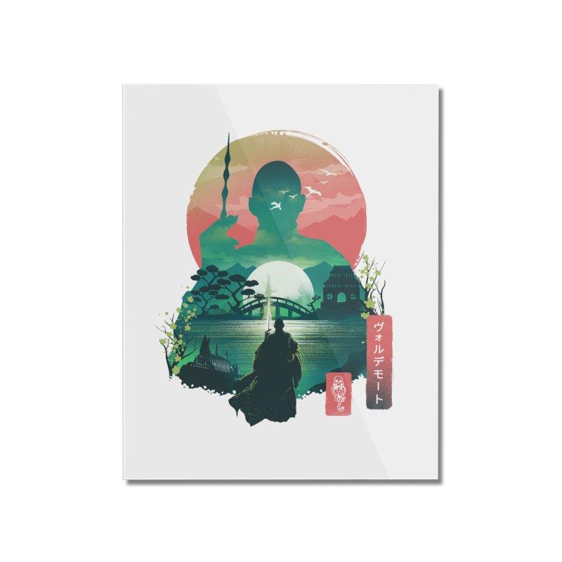 Wizard Ukiyo Home Mounted Acrylic Print by dandingeroz's Artist Shop