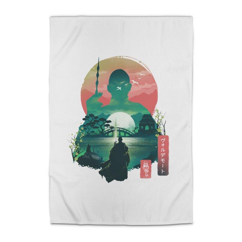 Wizard Ukiyo Home Rug by dandingeroz's Artist Shop