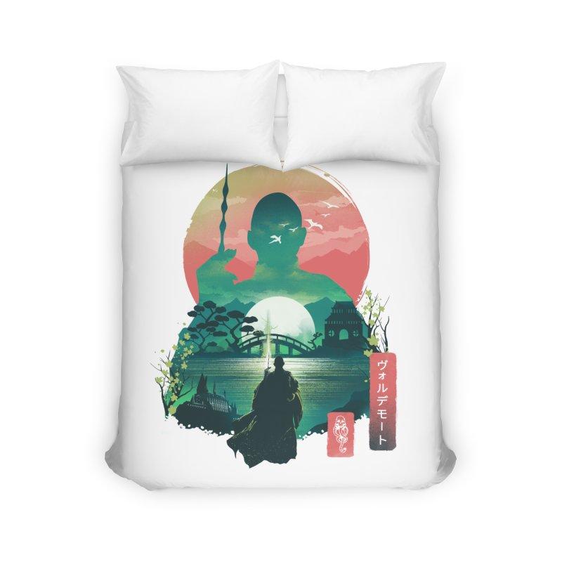 Wizard Ukiyo Home Duvet by dandingeroz's Artist Shop