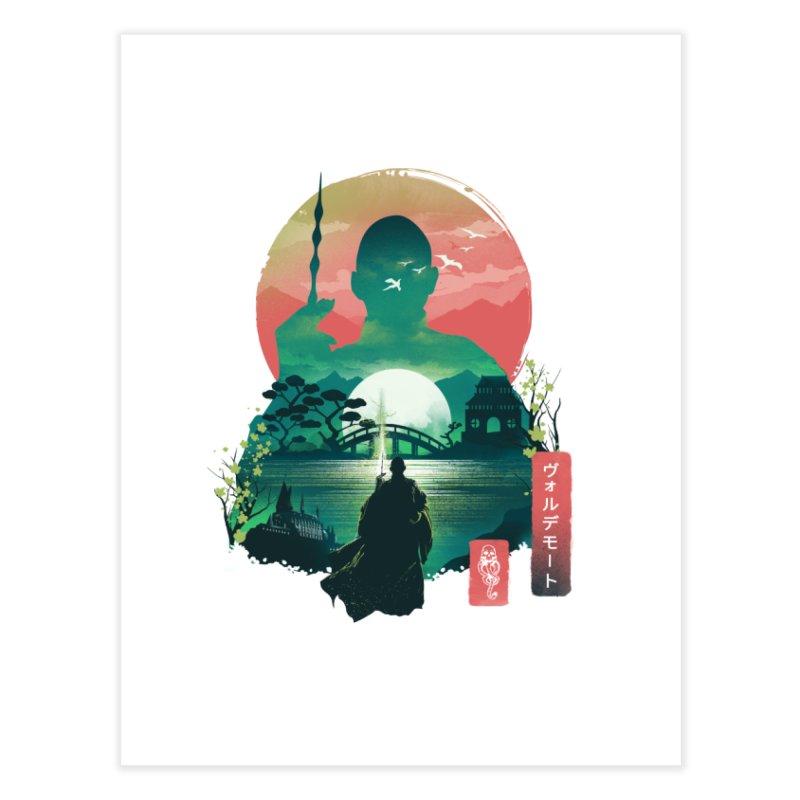 Wizard Ukiyo Home Fine Art Print by dandingeroz's Artist Shop