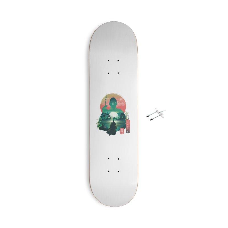 Wizard Ukiyo Accessories Skateboard by dandingeroz's Artist Shop