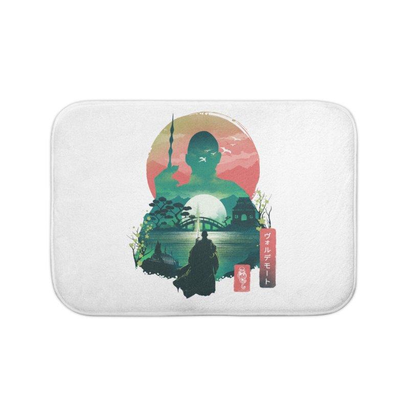 Wizard Ukiyo Home Bath Mat by dandingeroz's Artist Shop