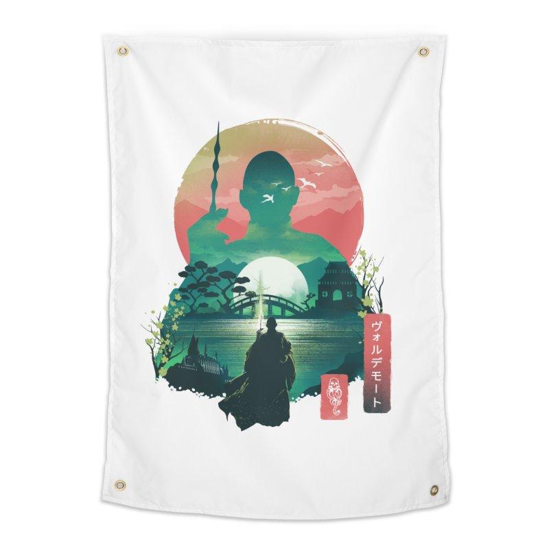 Wizard Ukiyo Home Tapestry by dandingeroz's Artist Shop