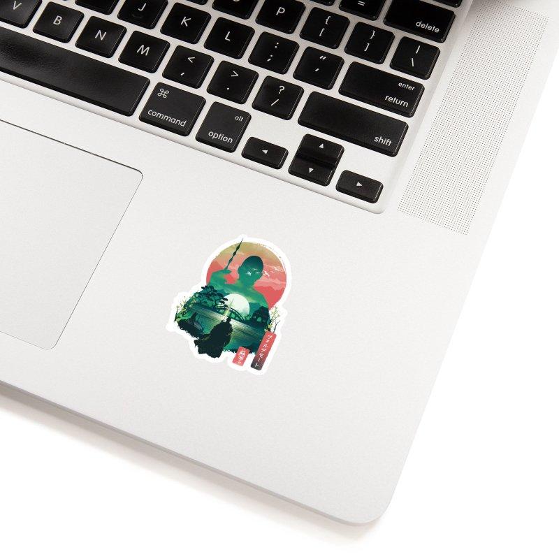 Wizard Ukiyo Accessories Sticker by dandingeroz's Artist Shop