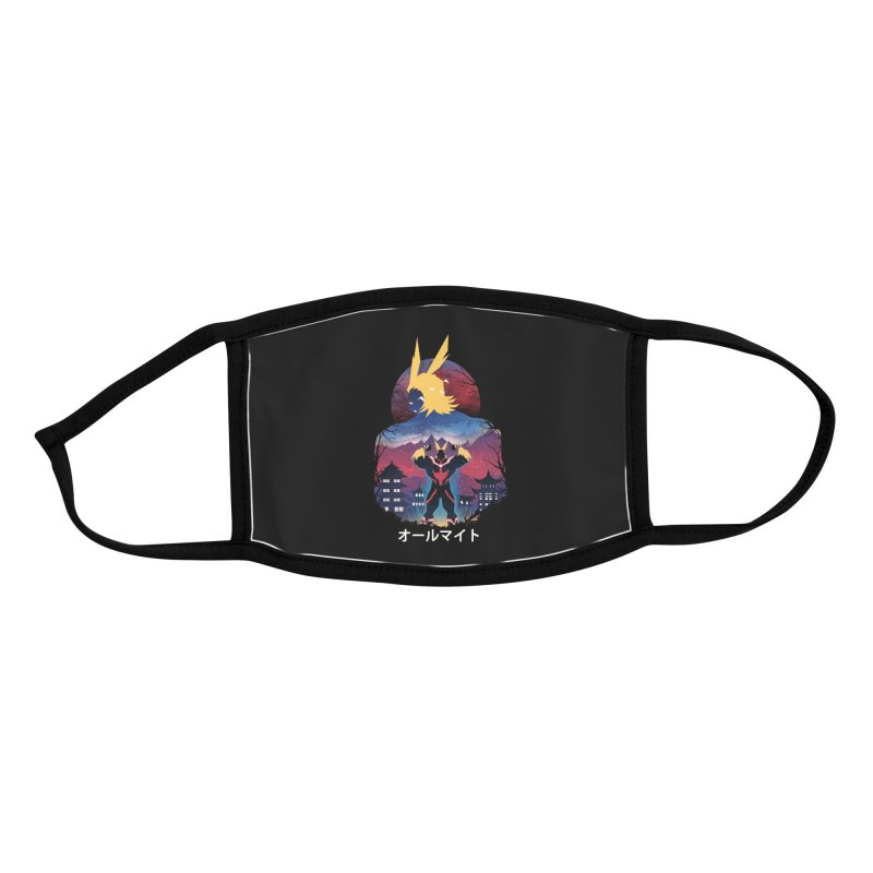 Ulta Plus Sunset Accessories Face Mask by dandingeroz's Artist Shop