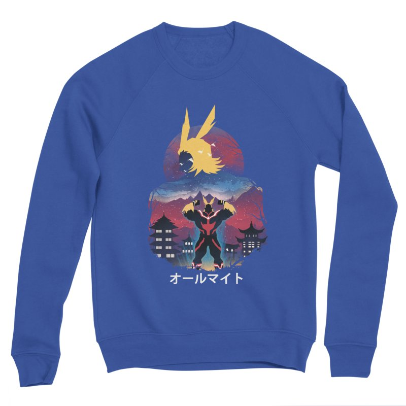 Ulta Plus Sunset Men's Sweatshirt by dandingeroz's Artist Shop