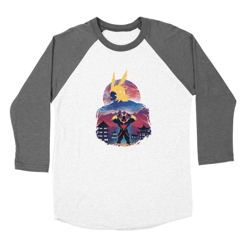 Ulta Plus Sunset Women's Longsleeve T-Shirt by dandingeroz's Artist Shop