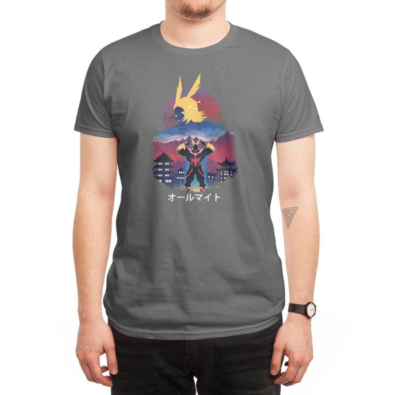 Ulta Plus Sunset Men's T-Shirt by dandingeroz's Artist Shop