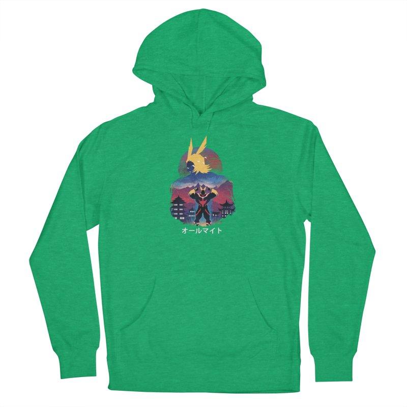 Ulta Plus Sunset Men's Pullover Hoody by dandingeroz's Artist Shop