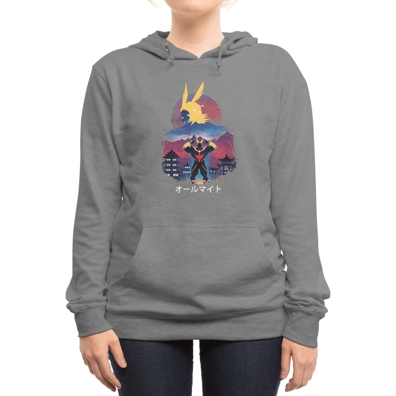 Ulta Plus Sunset Women's Pullover Hoody by dandingeroz's Artist Shop
