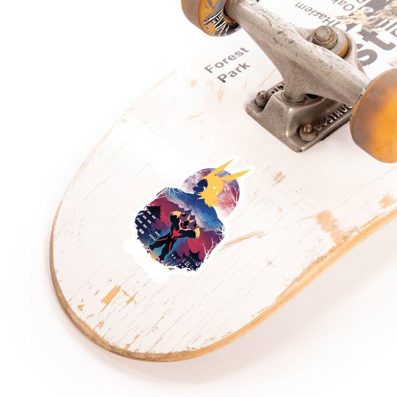 Ulta Plus Sunset Accessories Sticker by dandingeroz's Artist Shop