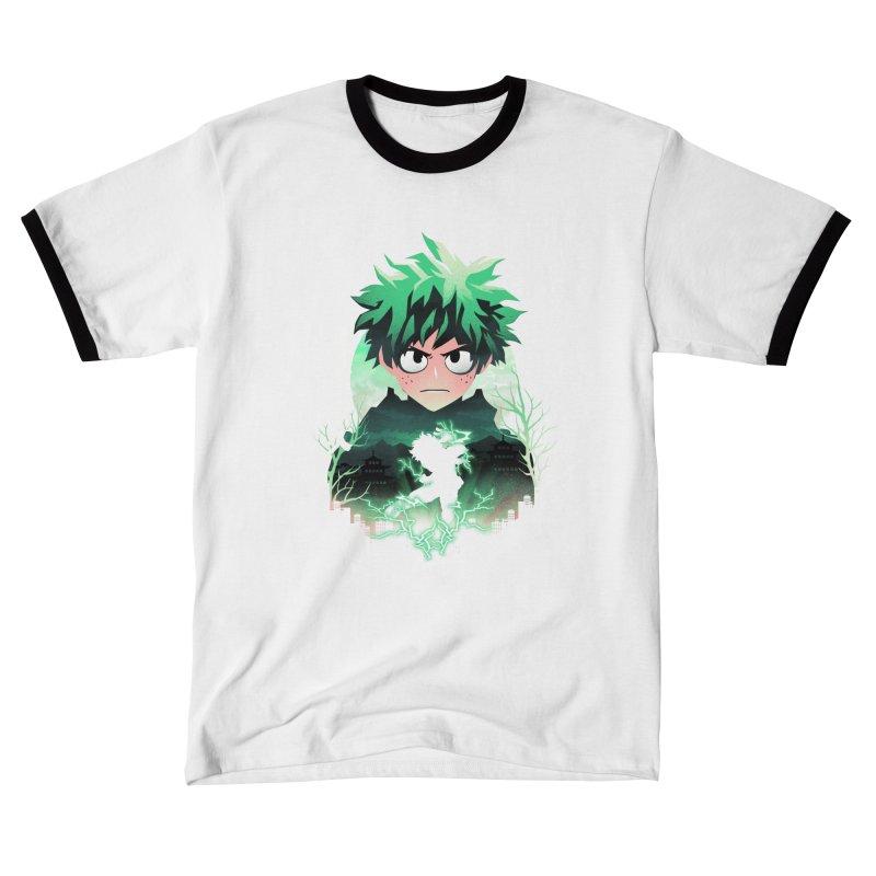 Deku Sunset Men's T-Shirt by dandingeroz's Artist Shop