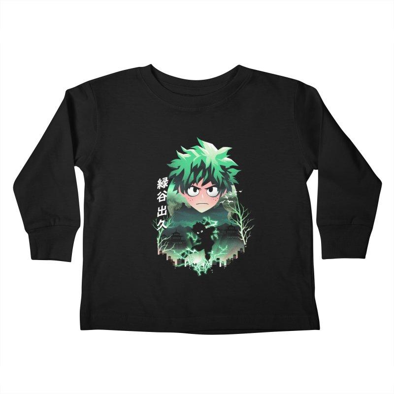 Deku Sunset Kids Toddler Longsleeve T-Shirt by dandingeroz's Artist Shop